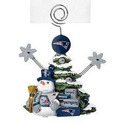 New England Patriots Christmas Tree Photo Holder