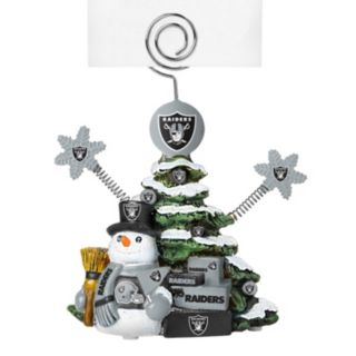 Oakland Raiders Christmas Tree Photo Holder
