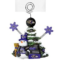 Baltimore Ravens Christmas Tree Photo Holder