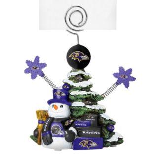 Baltimore Ravens Christmas Tree Photo Holder