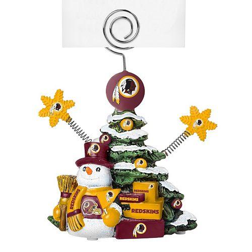 Washington Redskins Christmas Tree Photo Holder