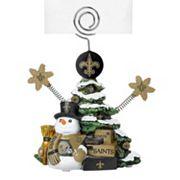 New Orleans Saints Christmas Tree Photo Holder