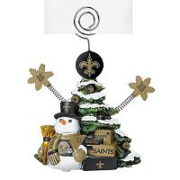 New Orleans Saints Christmas Tree Photo Holder