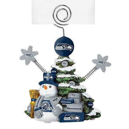 Seahawks Christmas Tree.Seattle Seahawks Christmas Tree Photo Holder