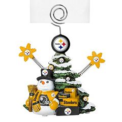 Pittsburgh Steelers Christmas Tree Photo Holder