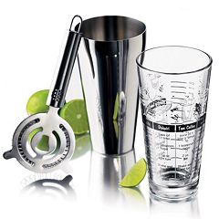 Libbey 3 pc Cocktail Shaker Set