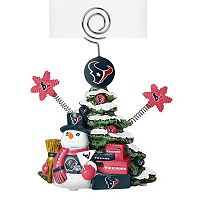 Houston Texans Christmas Tree Photo Holder