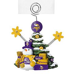 Minnesota Vikings Christmas Tree Photo Holder