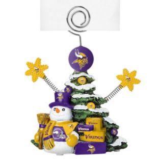 Minnesota Vikings Christmas Tree Photo Holder