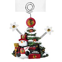 Chicago Blackhawks Christmas Tree Photo Holder