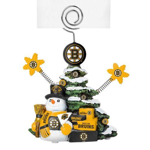 Boston Bruins Christmas Tree Photo Holder