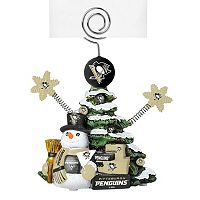 Pittsburgh Penguins Christmas Tree Photo Holder