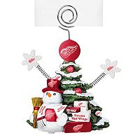 Detroit Red Wings Christmas Tree Photo Holder