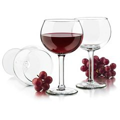 Libbey Preston 4 pc Red Wine Glass Set