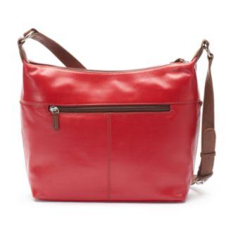 ili Leather Tassel Hobo