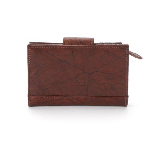 Women's Croft & Barrow® Leather Indexer Wallet