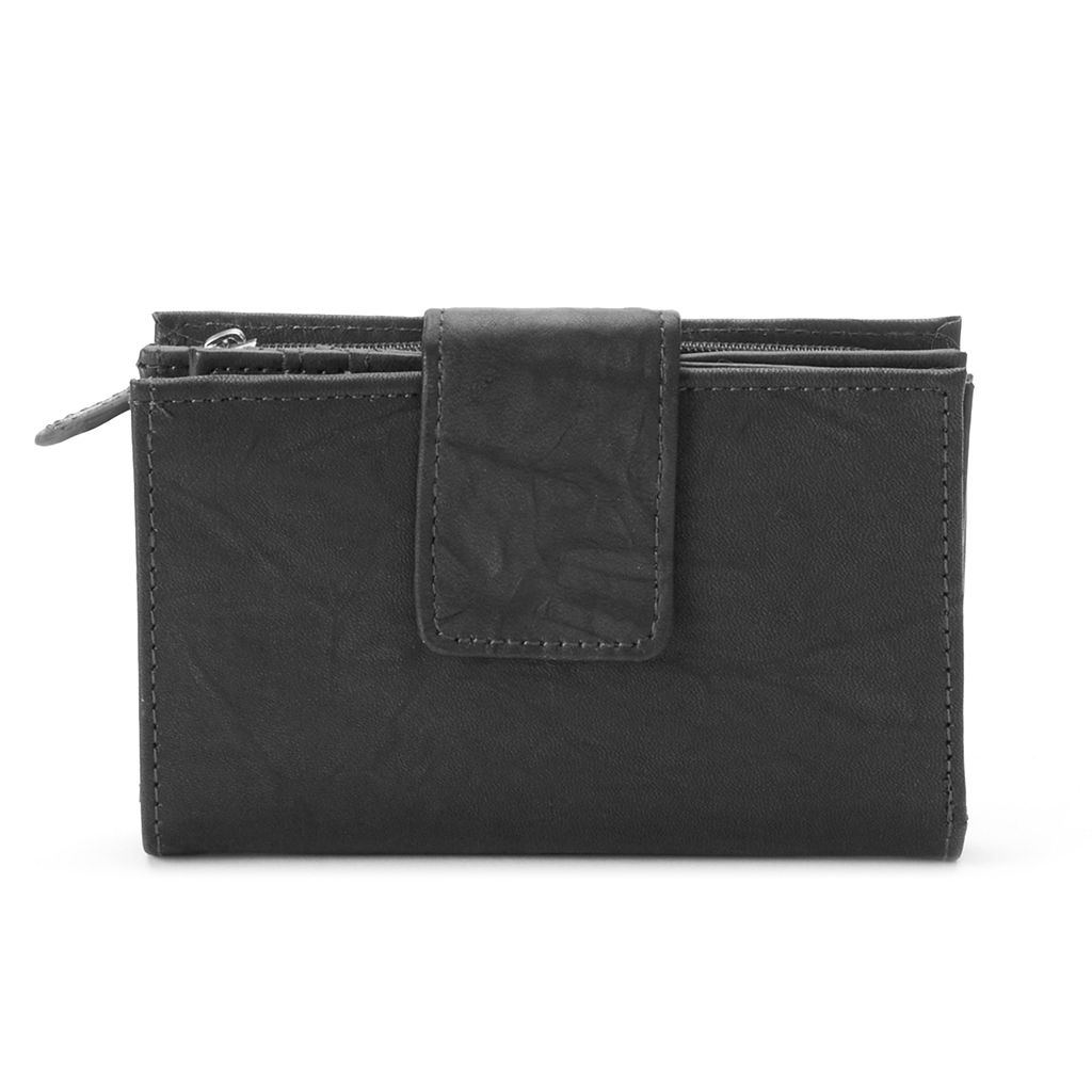 Women's Croft & Barrow® Leather Indexer Wallet