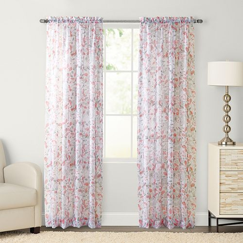 SONOMA Goods for Life™ 1-Panel Gardner Sheer Voile Window Curtain
