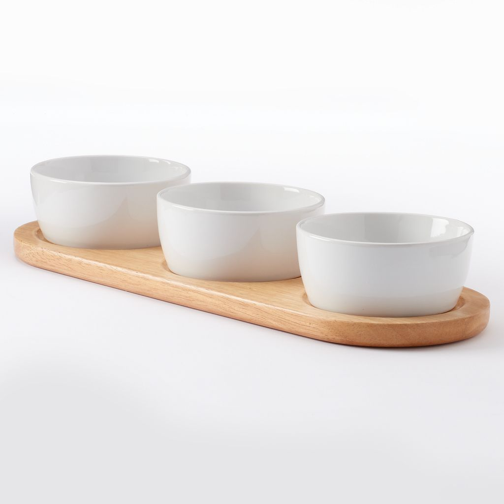 Food Network™ 4-pc. Dip Bowl Serving Set