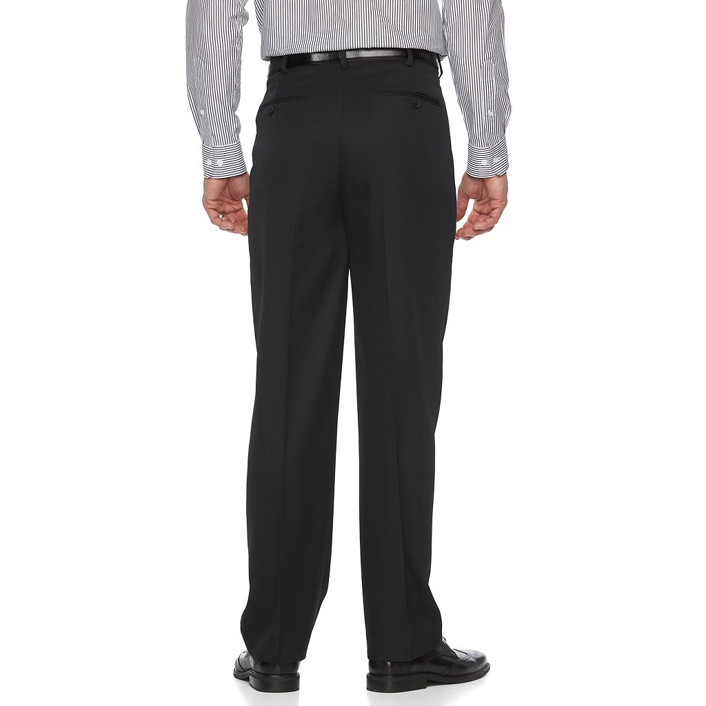 Men's Croft & Barrow® Classic-Fit Easy-Care Flat-Front Dress Pants