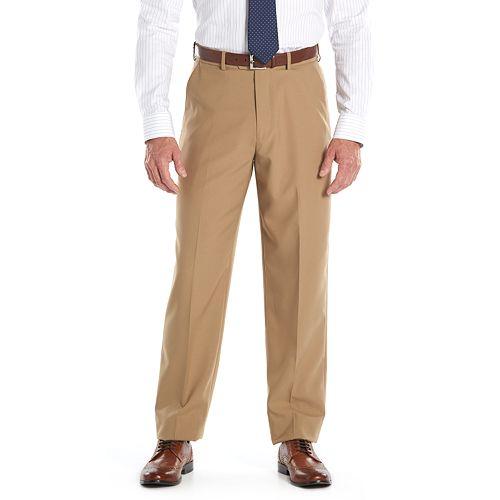 Men's Croft & Barrow® Classic-Fit Easy-Care Flat-Front Dress Pants
