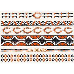 Chicago Bears Temporary Jewelry Tattoo 2-Pack