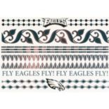 Philadelphia Eagles Temporary Jewelry Tattoo 2-Pack