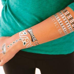 Philadelphia Eagles Temporary Jewelry Tattoo 2-Pack