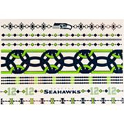 Seattle Seahawks Temporary Jewelry Tattoo 2-Pack