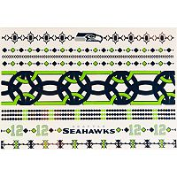Seattle Seahawks Temporary Jewelry Tattoo 2-Pack