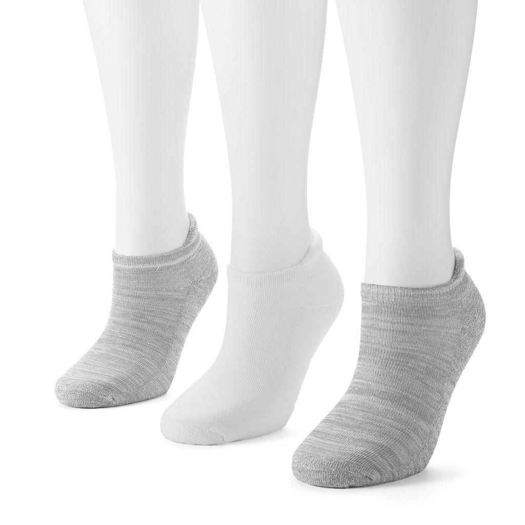 Women's SO® 3-pk. Tab Ankle Socks