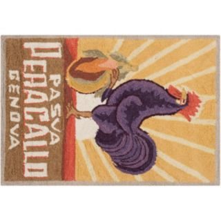 Safavieh Chelsea Rooster Hand Hooked Wool Rug - 1'8'' x 2'6''