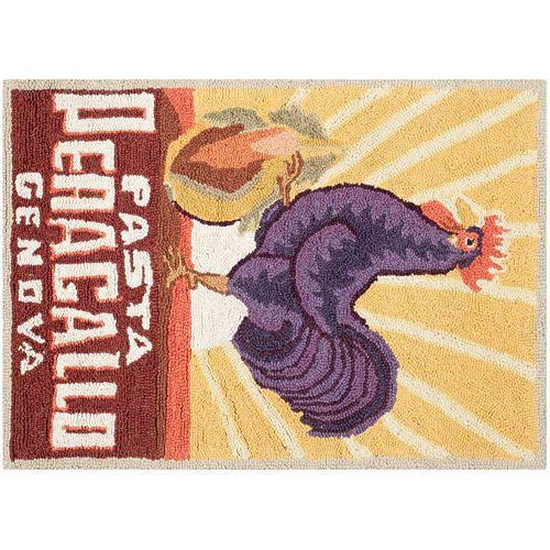 Safavieh Chelsea Rooster Hand Hooked Wool Rug