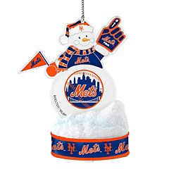 New York Mets LED Snowman Ornament