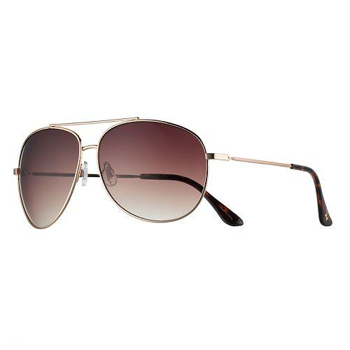 cc61687017a Women s LC Lauren Conrad Oversized Aviator Sunglasses