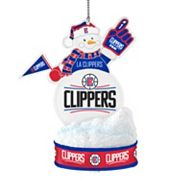 Los Angeles Clippers LED Snowman Ornament