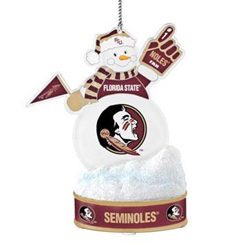 Florida State Seminoles LED Snowman Ornament
