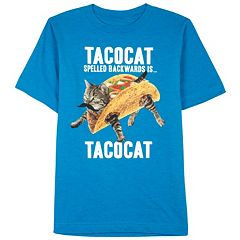 Boys 8-20 Backwards Tacocat Tee