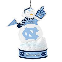 North Carolina Tar Heels LED Snowman Ornament