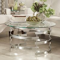 HomeVance Kaden Open Base Coffee Table