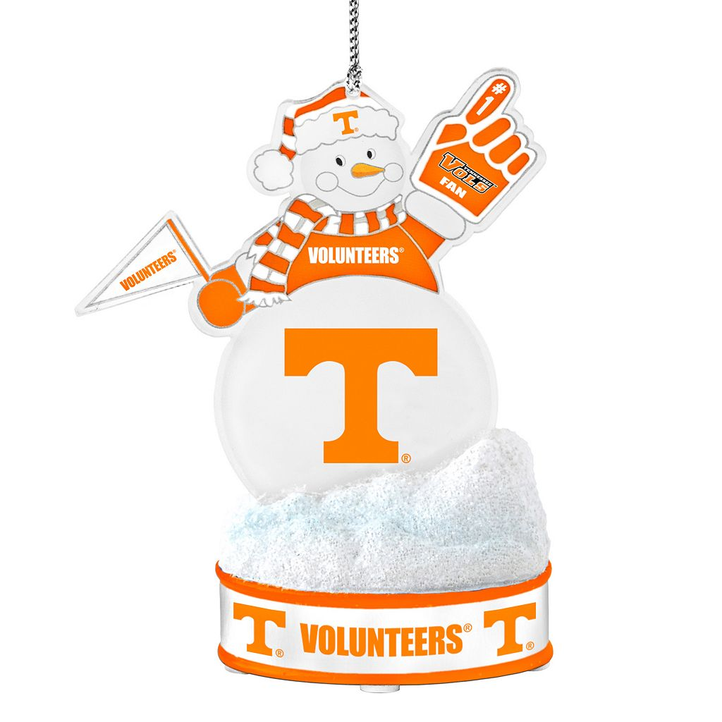 Tennessee Volunteers LED Snowman Ornament