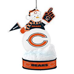 Chicago Bears LED Snowman Ornament
