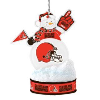 Cleveland Browns LED Snowman Ornament