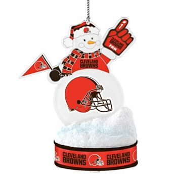 Cleveland Browns LED Snowman Ornament