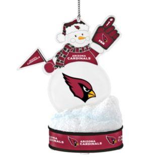 Arizona Cardinals LED Snowman Ornament