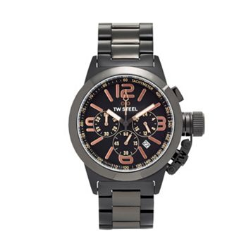 TW Steel Men's Canteen Kelly Rowland Special Edition Stainless Steel Chronograph Watch - TW312