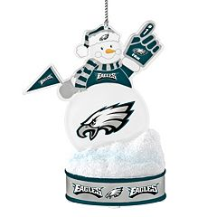 Philadelphia Eagles LED Snowman Ornament