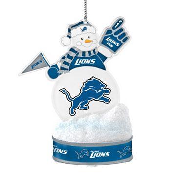 Detroit Lions LED Snowman Ornament