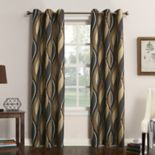 No 918 1-Panel Intersect Window Curtain