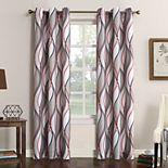 No. 918 1-Panel Intersect Window Curtain